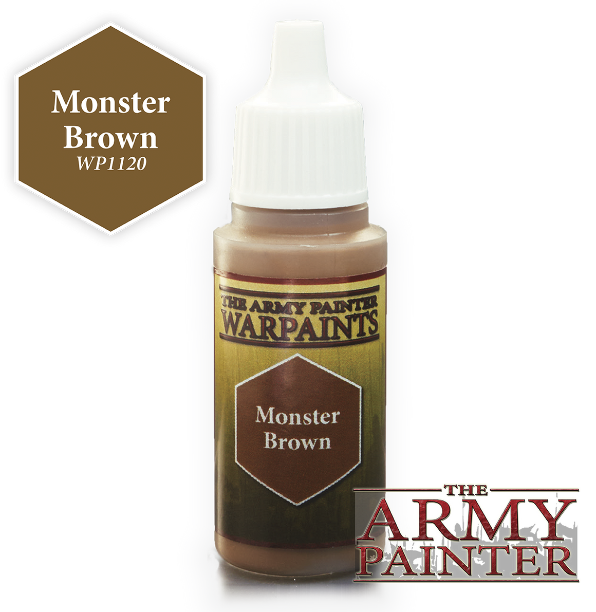 Army Painter Acrylic Warpaint - Monster Brown