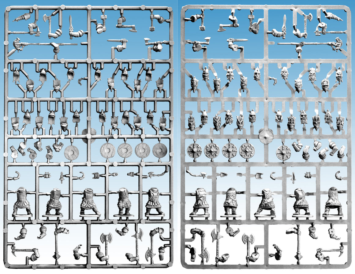 Oathmark Dwarf Heavy Infantry Single Sprue