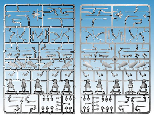 Oathmark Elf Infantry Single Sprue