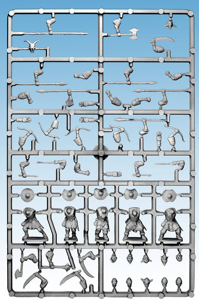 Oathmark Goblin Infantry Single Sprue