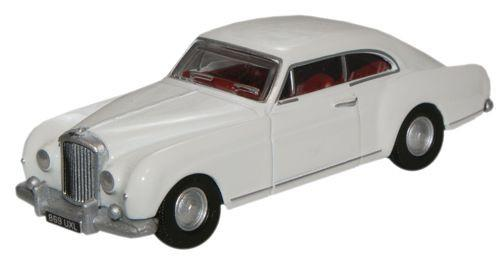 Oxford Diecast Olympic White Bentley S1 Continental Fastback - 76BCF003