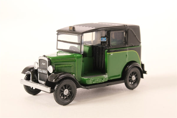 Oxford Diecast Austin Low Loader Taxi Westminster Green- 76MGTC004