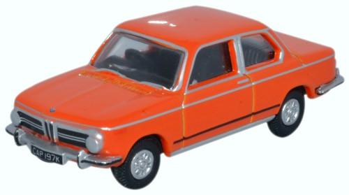 Oxford Diecast BMW 2002 Colorado Orange - 76BM02001