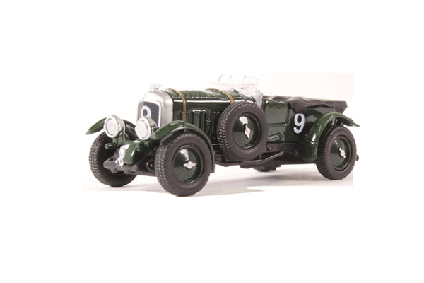 Oxford Diecast Bentley Blower Le Mans 1930 No.9 Birkin/Chassagne -76BB001