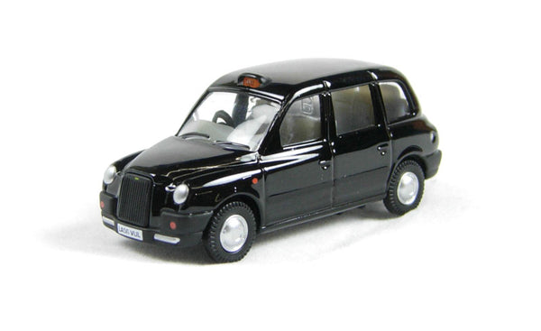 Oxford Diecast Black TX Taxi - 76TX4001