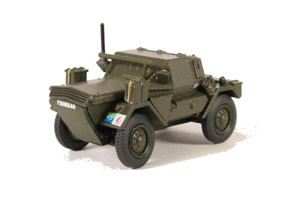 Oxford Diecast Dingo Scout Car 8th Kings Royal Irish Hussars - 76DSC004