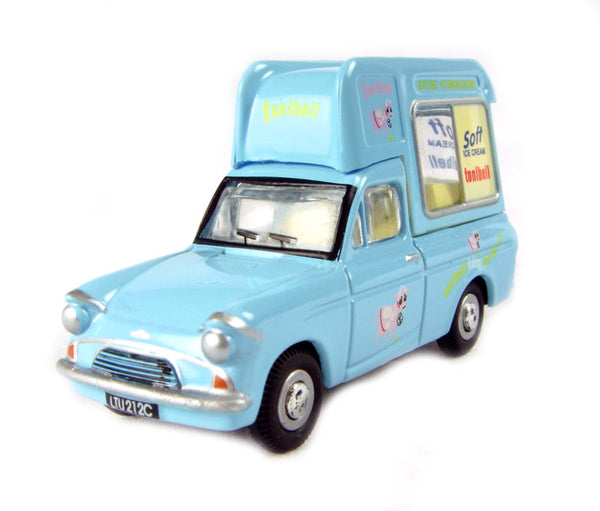 Oxford Diecast Ford Anglia Tonibell Ice Cream Van - 76ANG014