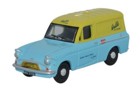 Oxford Diecast Ford Anglia Walls Ice Cream - 76ANG008