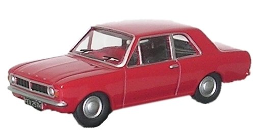 Oxford Diecast Ford Cortina MkII Red - 76COR2003