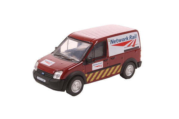 Oxford Diecast Ford Transit Connect Network Rail (Jarvis) - 76FTC009