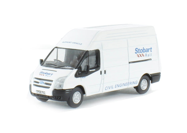 Oxford Diecast Ford Transit LWB High Roof Stobart - 76FT010
