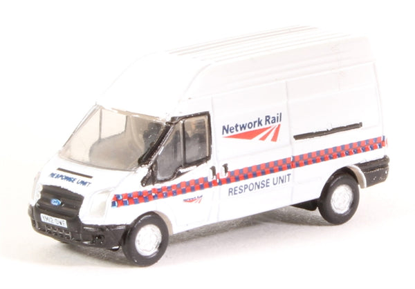 Oxford Diecast - Ford Transit Mk5 Network Rail Response Unit - NFT022