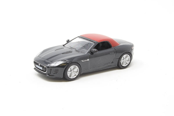 Oxford Diecast - Jaguar F Type Ultimate Black - 76FTYP007