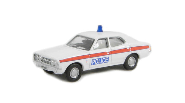 Oxford Diecast Police Ford Cortina MkIII - 76COR3004