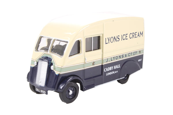 Oxford Diecast Pickfords Commer Q25 Lyons Ice Cream - 76CM009