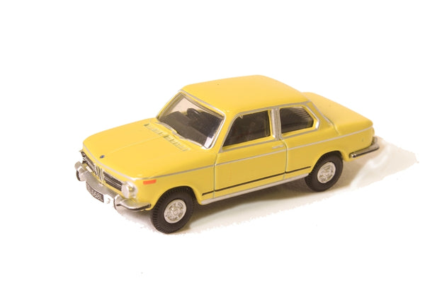 Oxford Diecast BMW 2002 Golf Yellow - 76BM02002