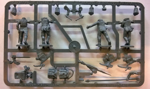 Perry Miniatures Prussian Napoleonic Line Infantry Command Sprue