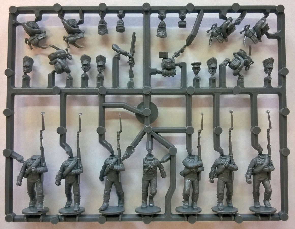 Perry Miniatures Prussian Napoleonic Line Infantry Sprue