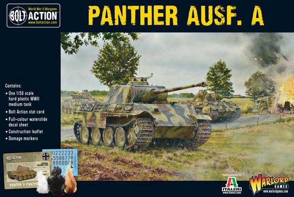 Bolt Action WWII Panther Ausf. A