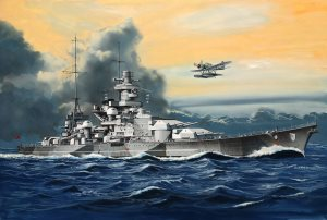 Revell 1/1200 Scharnhorst German Battlecruiser