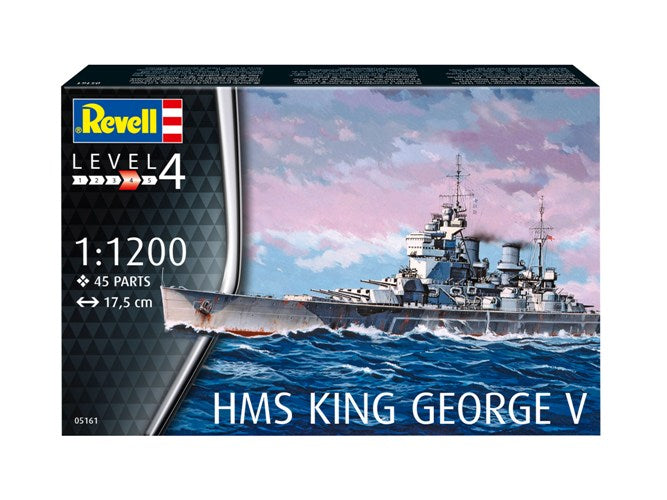 Revell 1/1200 HMG KING GEORGE V