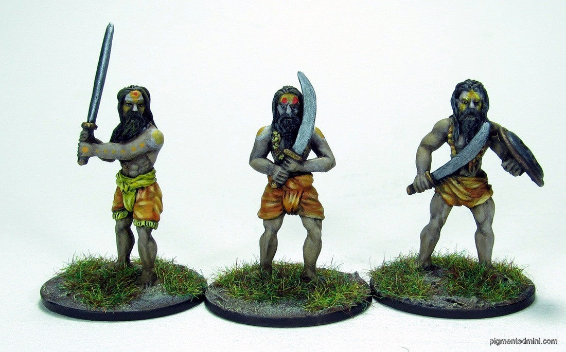 REL01 Indian Religious men - 6 pack
