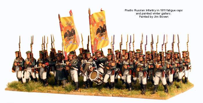 Perry Miniatures Russian Napoleonic Infantry 1809-14