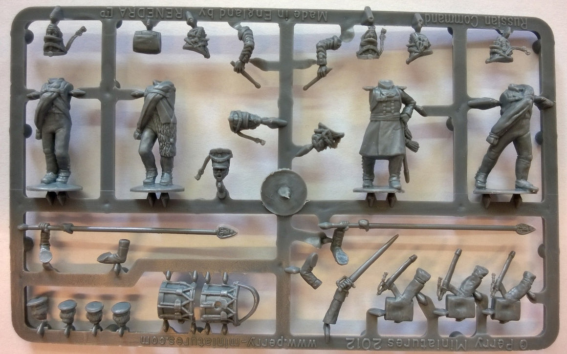Perry Miniatures Russian Napoleonic Infantry Command Sprue