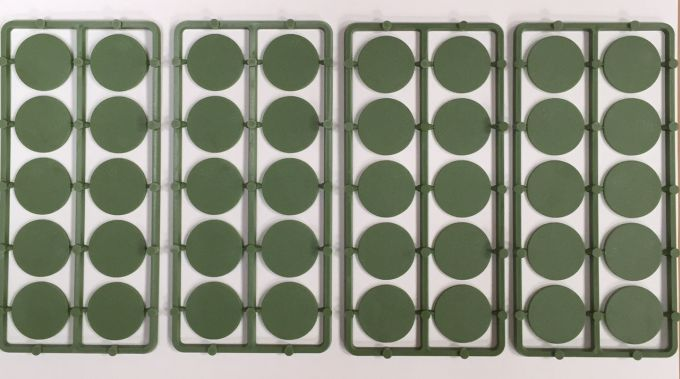 Renedra 25mm Round Bases
