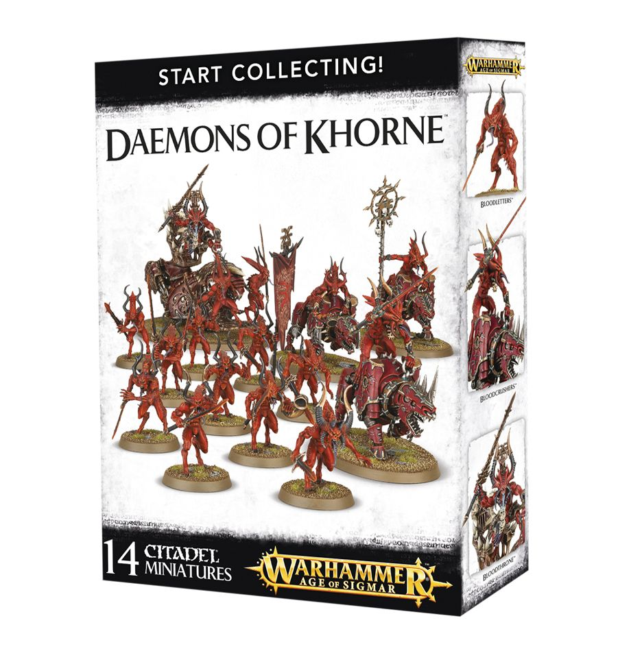 Start Collecting Daemons of Khorne