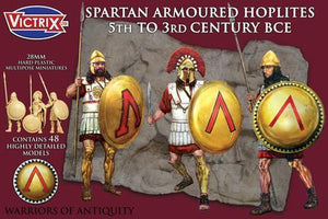 Victrix VXA002 Spartan Armoured Hoplites 5th to 3rd Century BC
