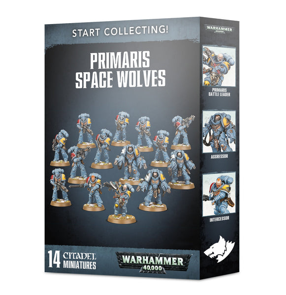 Start Collecting Primaris Space Wolves