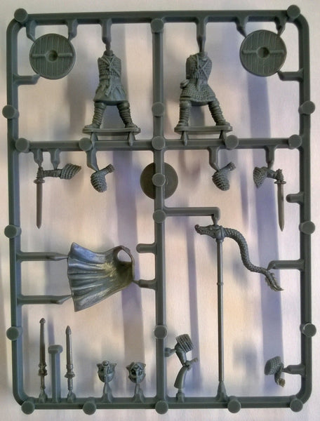Gripping Beast Saxon Thegns Command Sprue