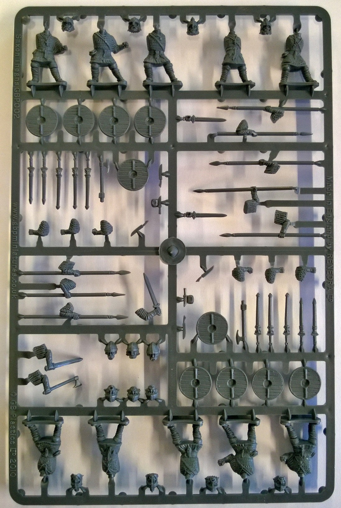 Gripping Beast Saxon Thegns Single Sprue