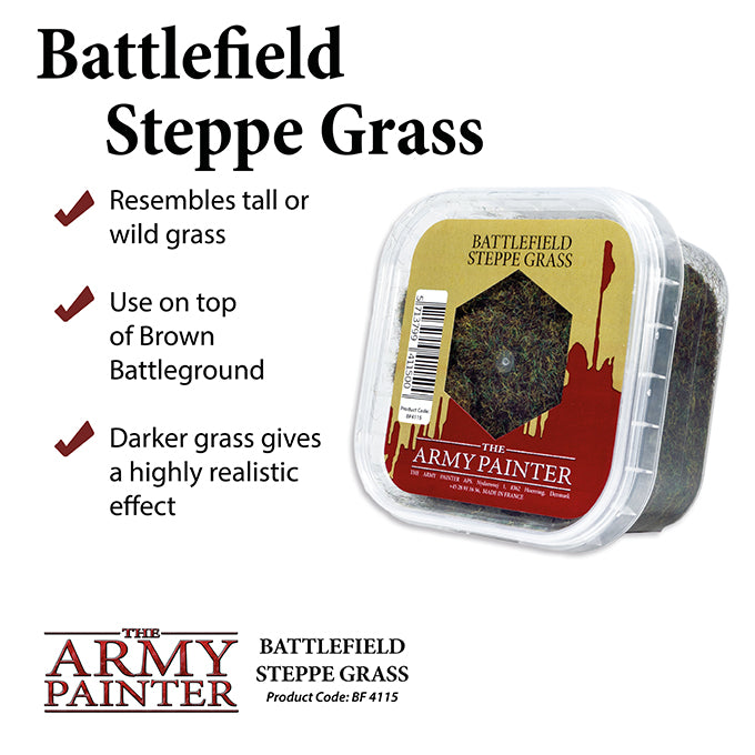 Army Painter Basing: Battlefield Steppe Grass