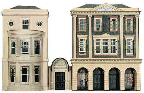 Superquick C04 Regency Period Shops and House