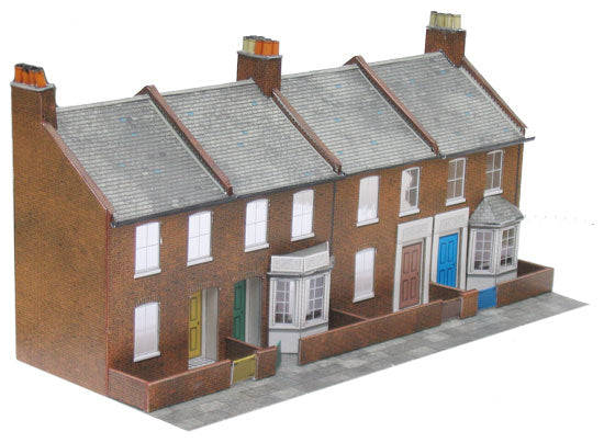 Superquick C06 Four Redbrick Terrace Fronts