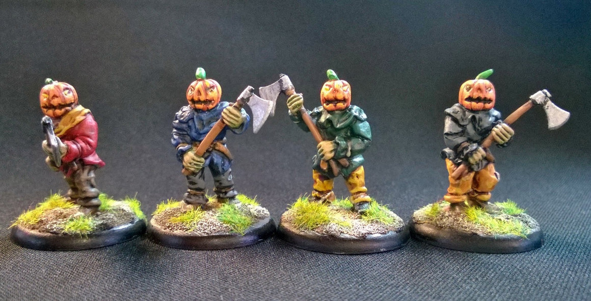 TH108 Pumpkin Woodcutters