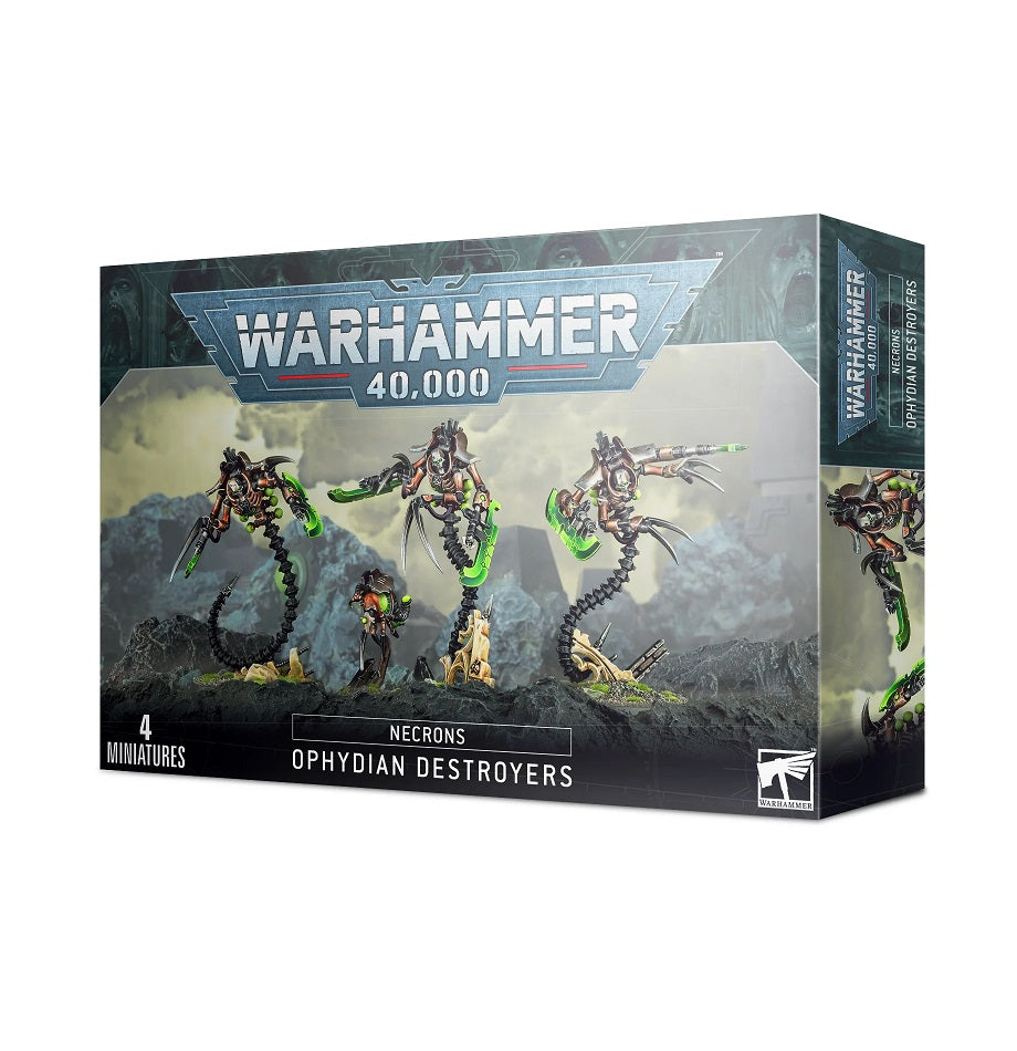 Necrons: OPHYDIAN DESTROYERS