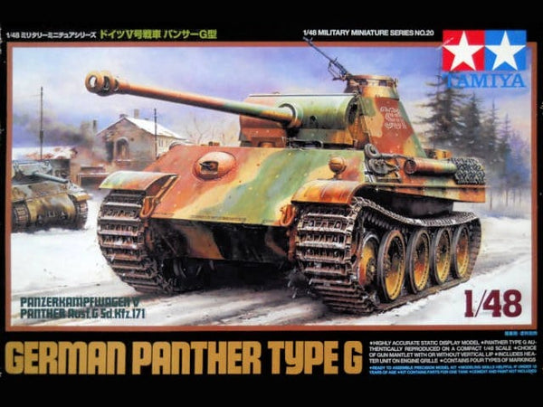 Tamiya 1/48 German Panther Type G