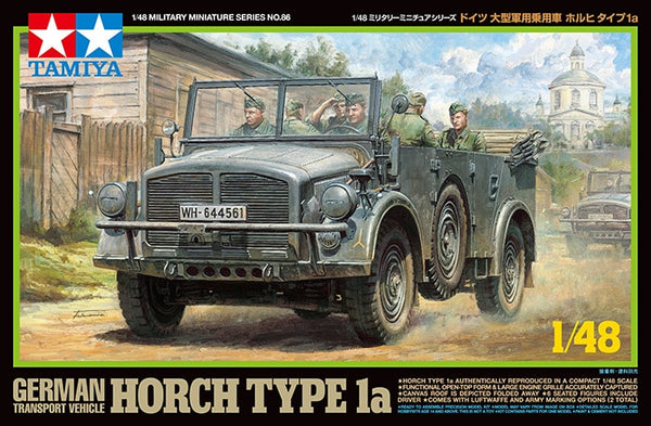 Tamiya 1/48 German Transport Vehicle Horch Type 1a