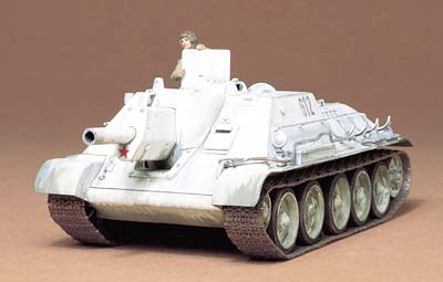 Tamiya Russian Tank Destroyer SU-122