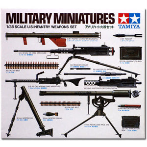 Tamiya 1/35 US Infantry Weapons Set