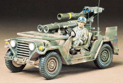 Tamiya 1/35 U.S. M151A2 with TOW Missile Launcher