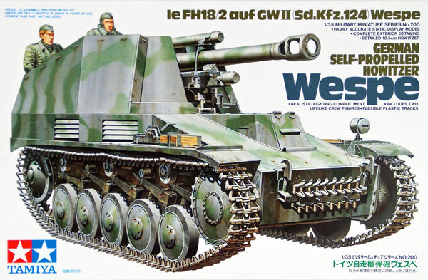 Tamiya German Self-Propelled Howitzer Wespe