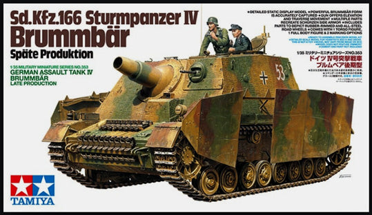 Tamiya German Assault Tank IV Brummbär Late Production