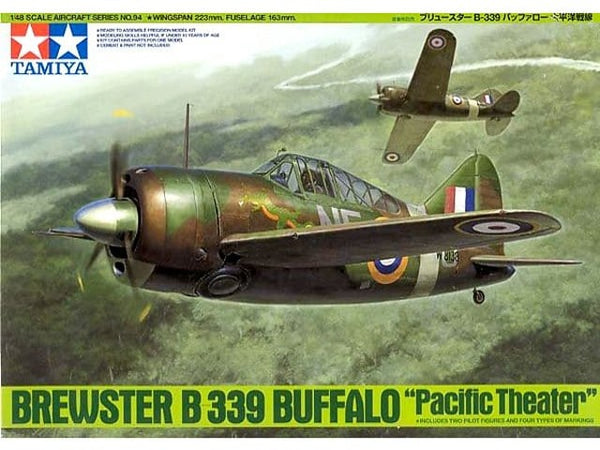 "Tamiya 1/48 Brewster B-339 Buffalo ""Pacific Theater"""