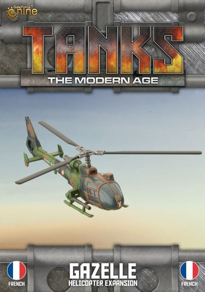 MTANKS27 Gazelle Helicopter Expansion