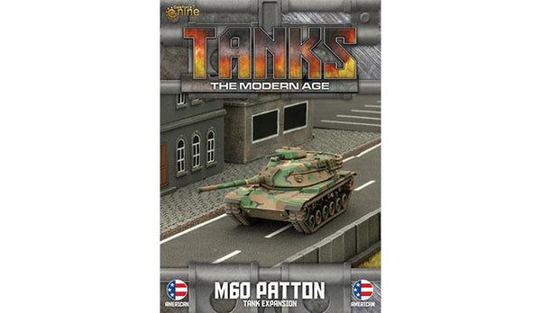 MTANKS06 American M60 Patton Tank Expansion