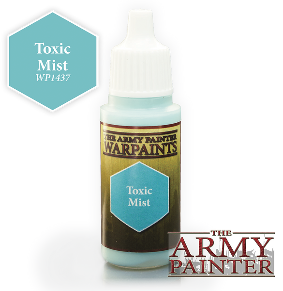 Army Painter Acrylic Warpaint - Toxic Mist